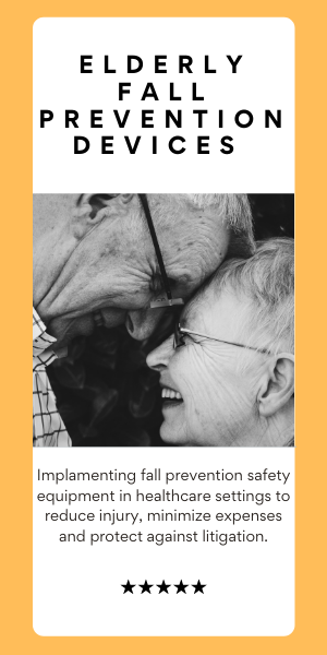 Elderly fall prevention devices
